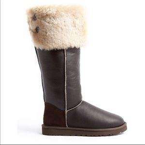 208886e1fce UGG Australia over the knee sheepskin boots